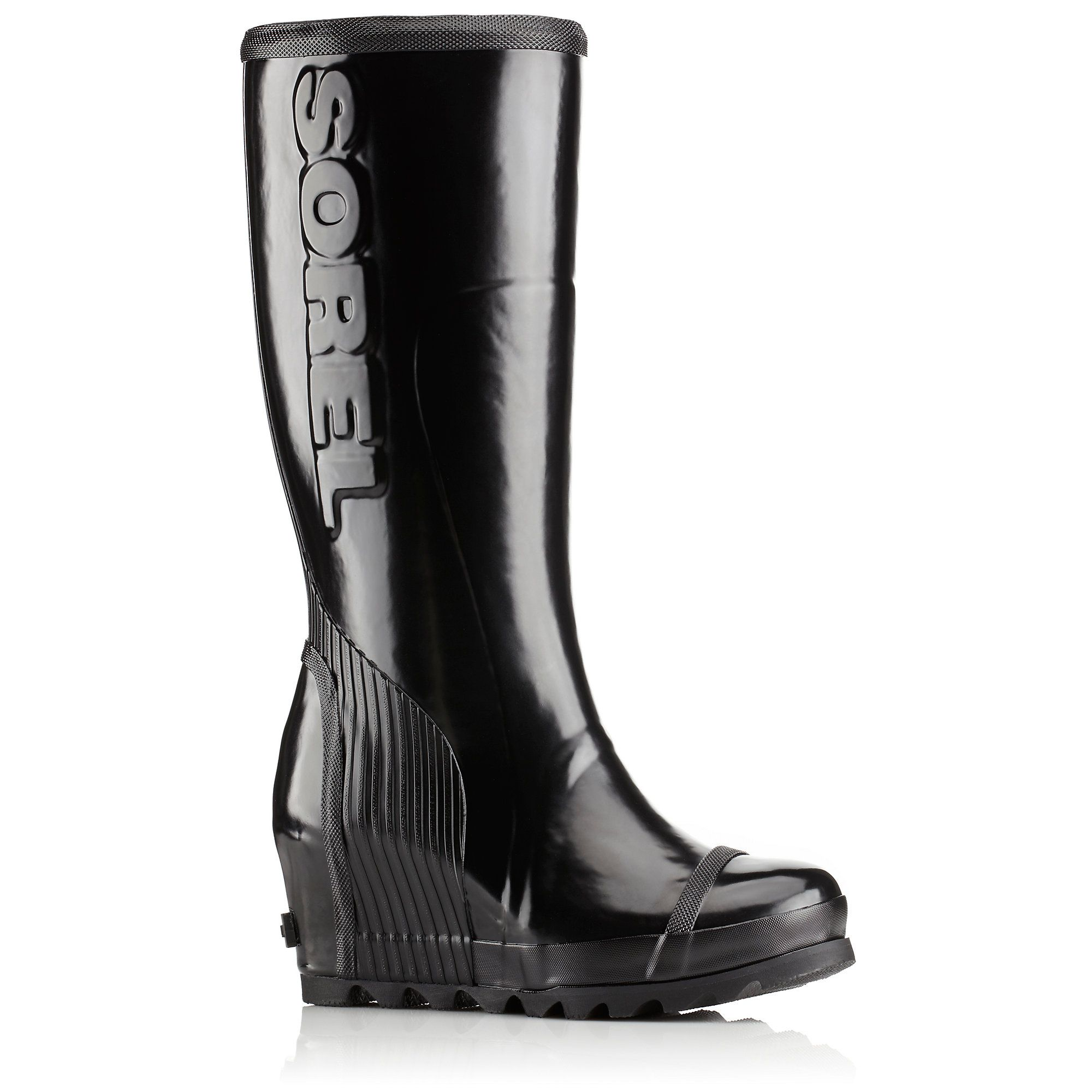 SOREL Womens Joan Rain Tall Gloss Boot SOREL Women/'s Joan Rain Tall Gloss Boot