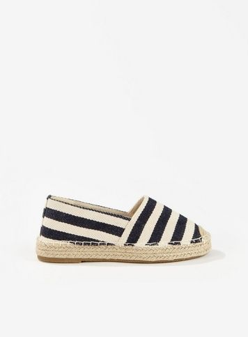 611c9f1bece LUCA Navy Closed Flat Espadrilles in 2019 | Products | Espadrilles ...