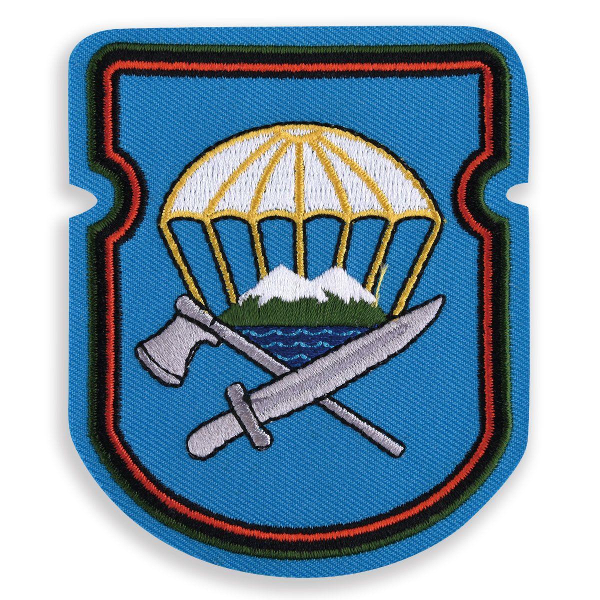 "Sleeve insignia Airborne ""629-th separate engineering-sapper battalion 7th DSHD"""