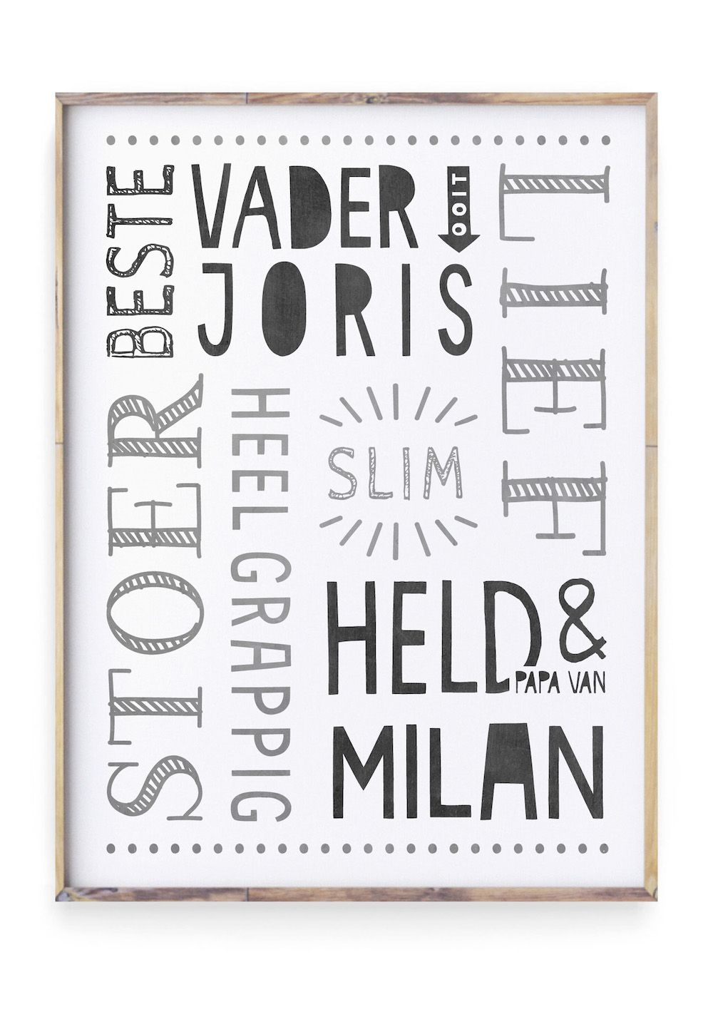 Vaderdag Posters Styling Id Vaderdag Poster Handlettering