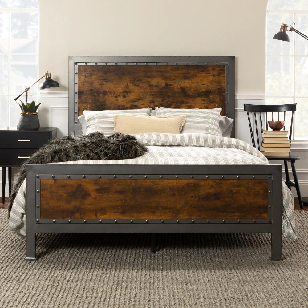Our Best Bedroom Furniture Deals Queen Panel Beds Rustic Queen
