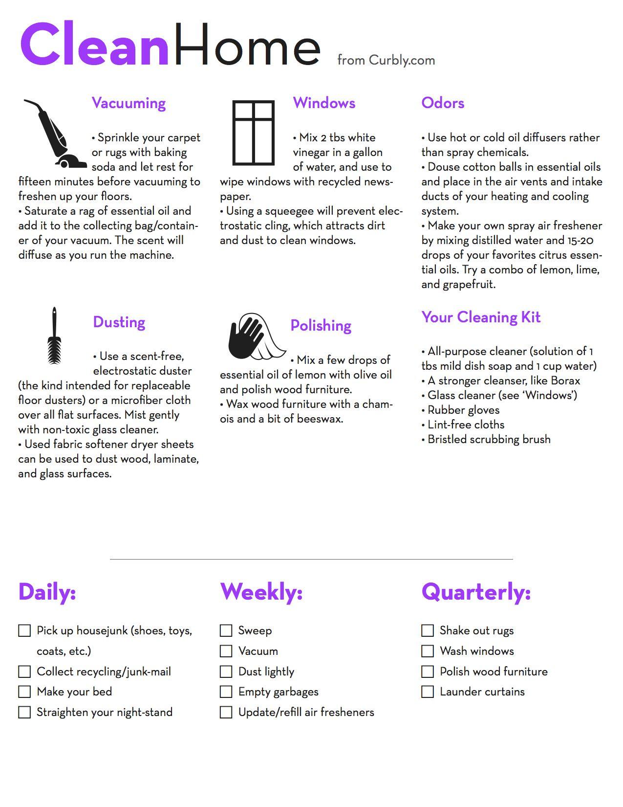 Clean Home   Verhuistips, Schoonmaken, Huishoudtips