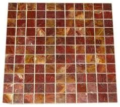 Red Mosaic Tile Sheets For Floor   Google Search