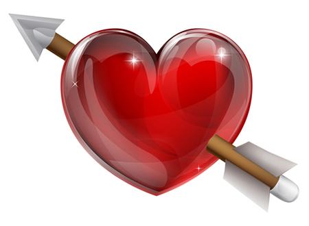 Arrow Heart Heart With Arrow Heart Icons Heart Wallpaper