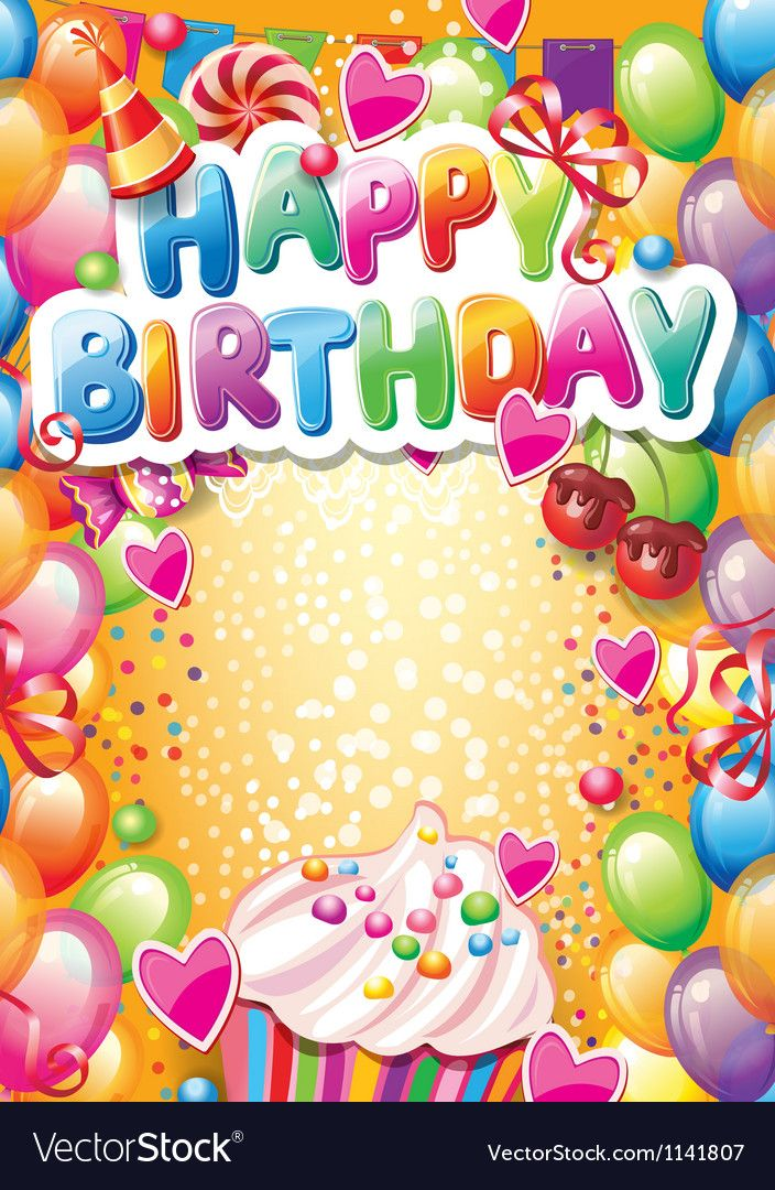 Pin by Ngockim on Greeting Cards Happy birthday frame