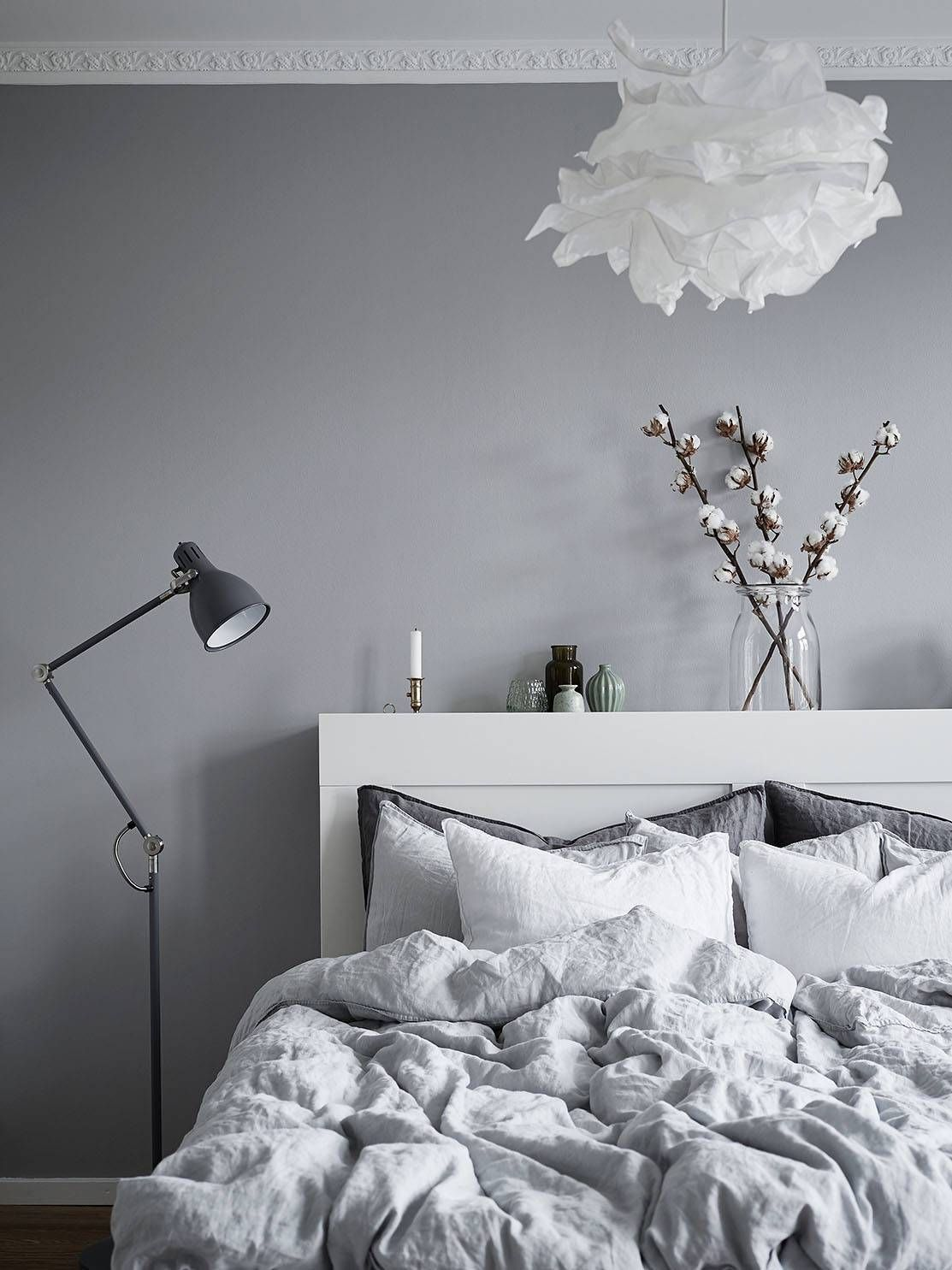 Dress Up Your Scandinavian Bedroom with These Modern Floor Lamps ...
