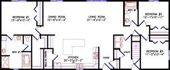 Image Result For Floor Plan For A 40 X 65 Single Story House Floor Plans Ranch Floor Plans How To Plan