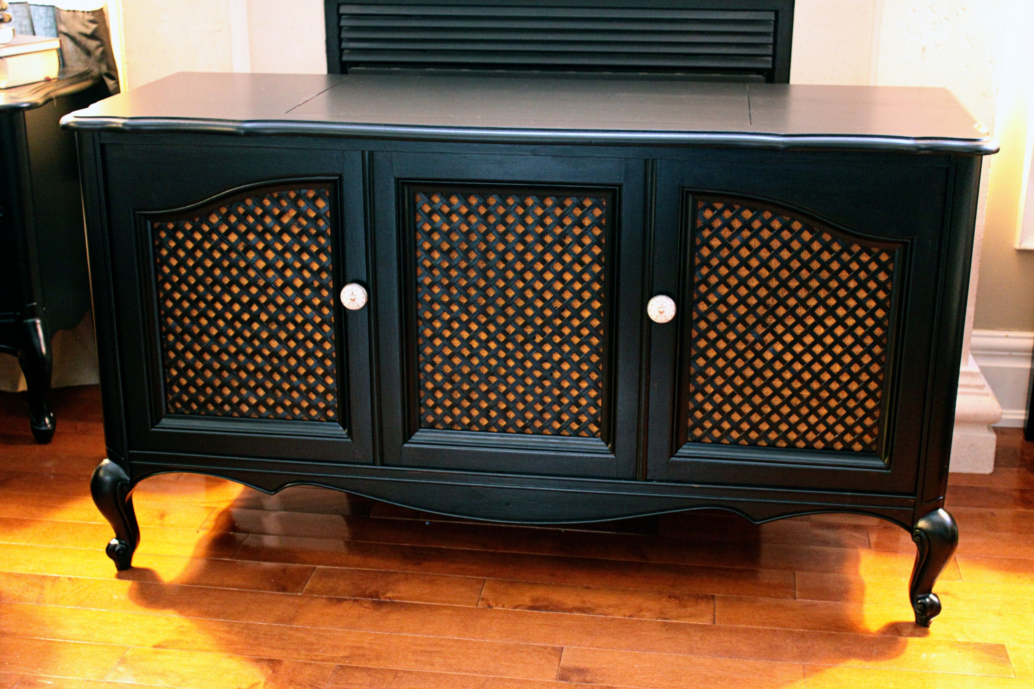 retrofit console diyscoveries pin pinterest cabinet vintage stereo
