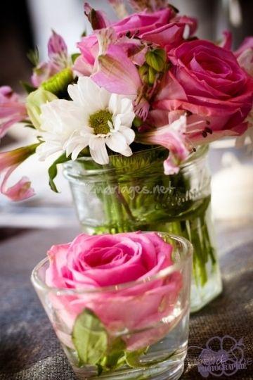 centre de table fleurs mariage pas cher. Black Bedroom Furniture Sets. Home Design Ideas