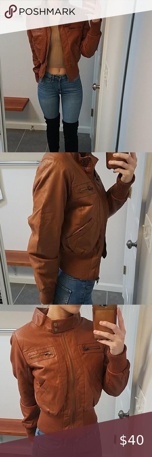 Nwot Faux Leather Cropped Jacket In 2021 Faux Leather Hoodie Maroon Leather Jacket Coats Jackets Women [ 1740 x 580 Pixel ]