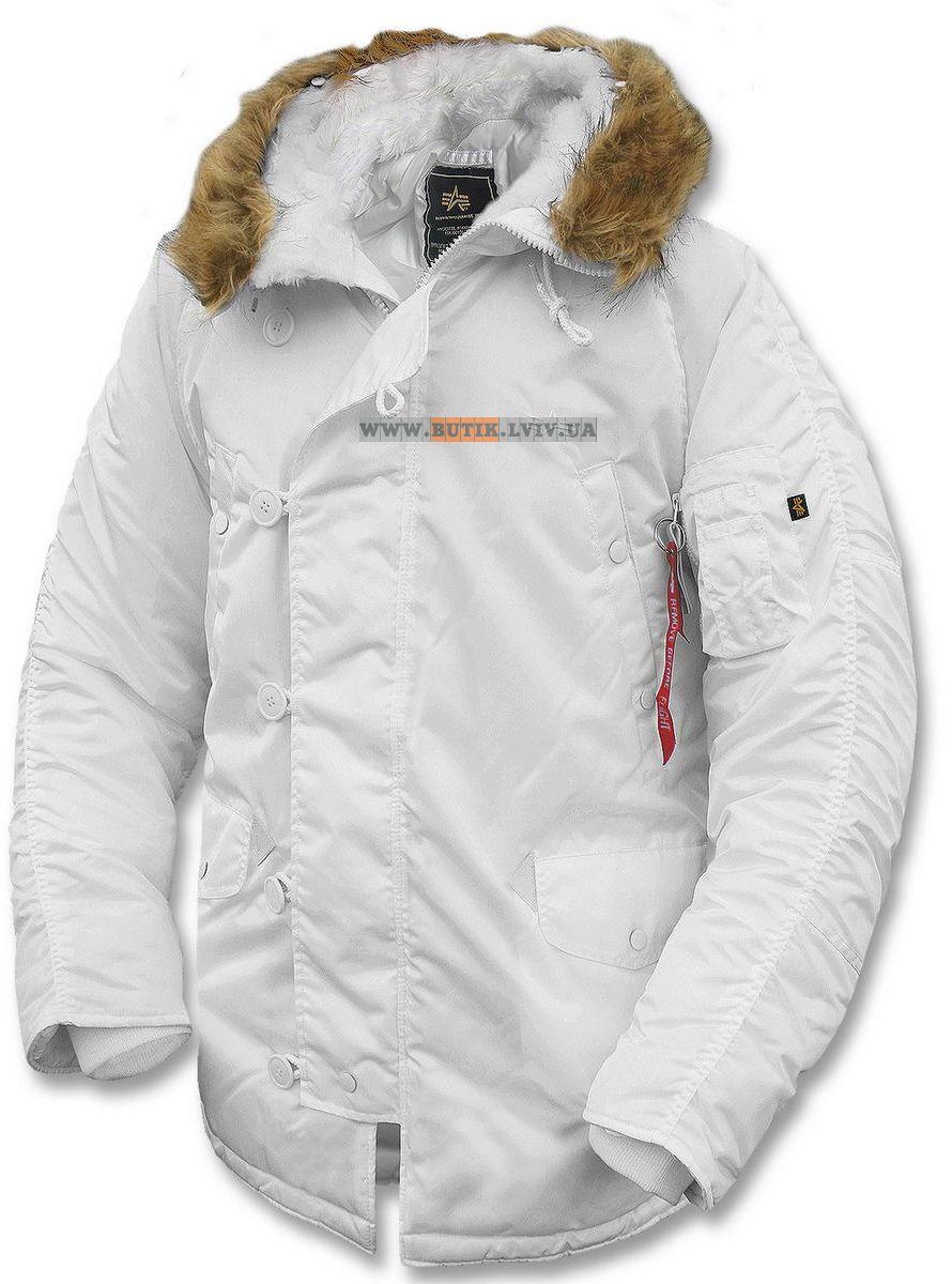 Alpha Industries Hooded Puffer Jacket (Herr)