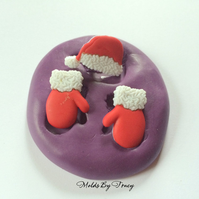 Xmas Santa Hat Silicone Mould Cake Decorating Sugarcraft Mold Food Safe
