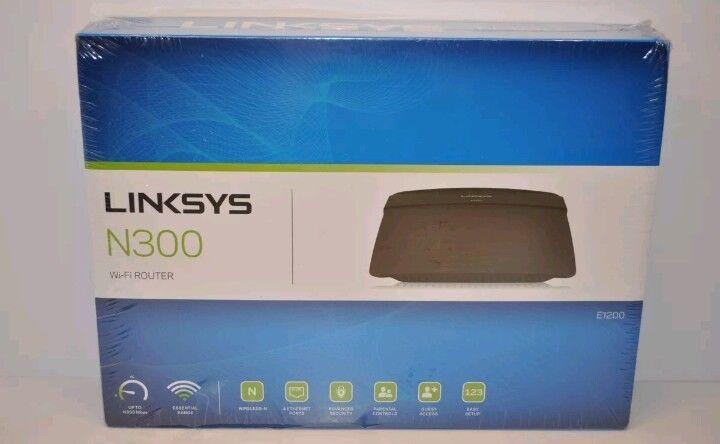 Linksys N300 (E1200) Wi-Fi Wireless Router Parental Controls