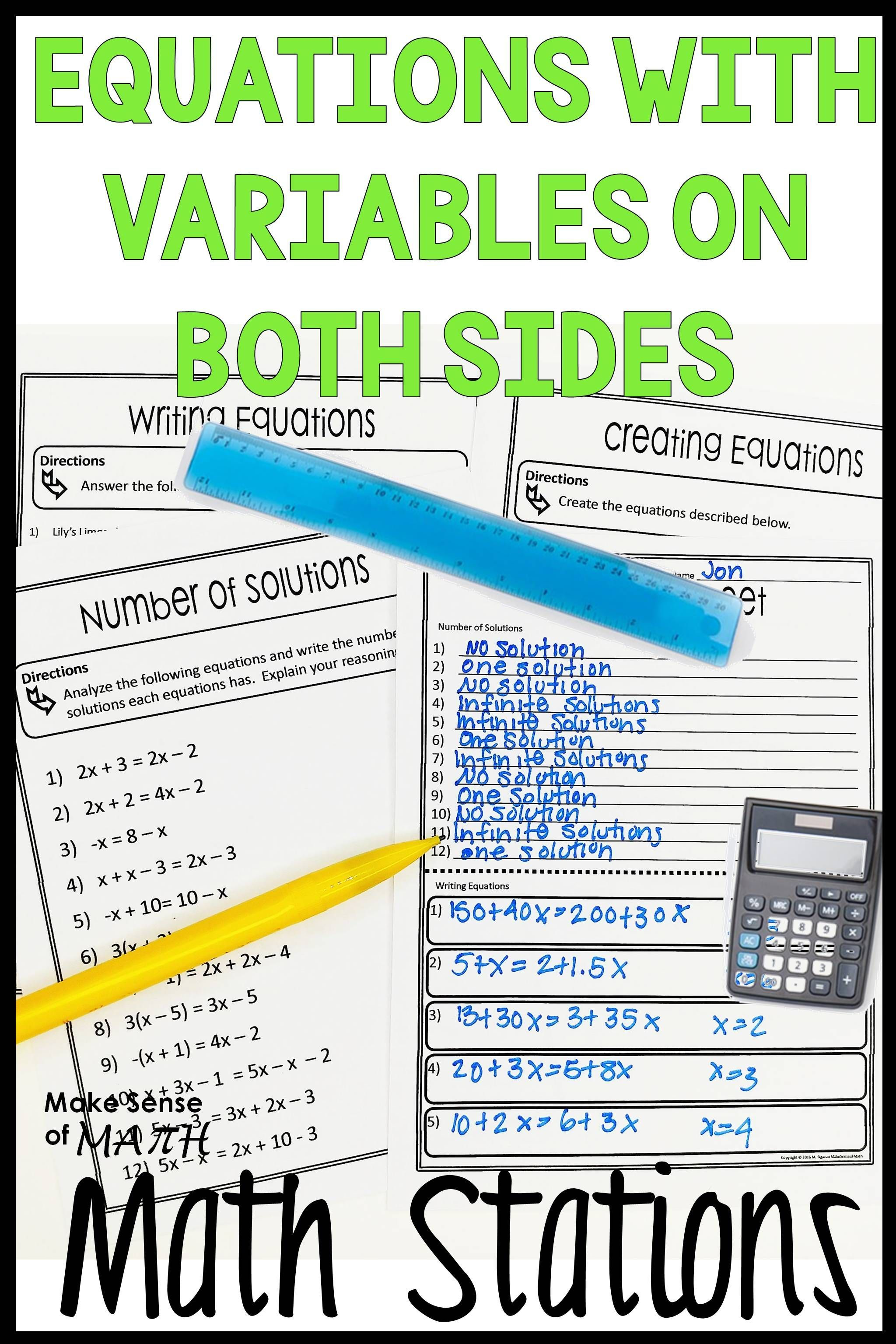 Check Out These Math Stations To Practice Solving