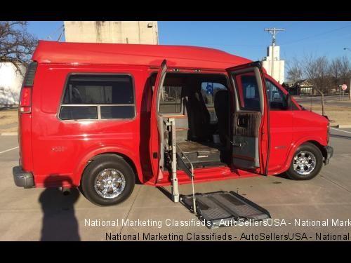 2000 Chevrolet Express 1500 Handicapped Conversion Van Engine 350 Automatic Transmission 100000