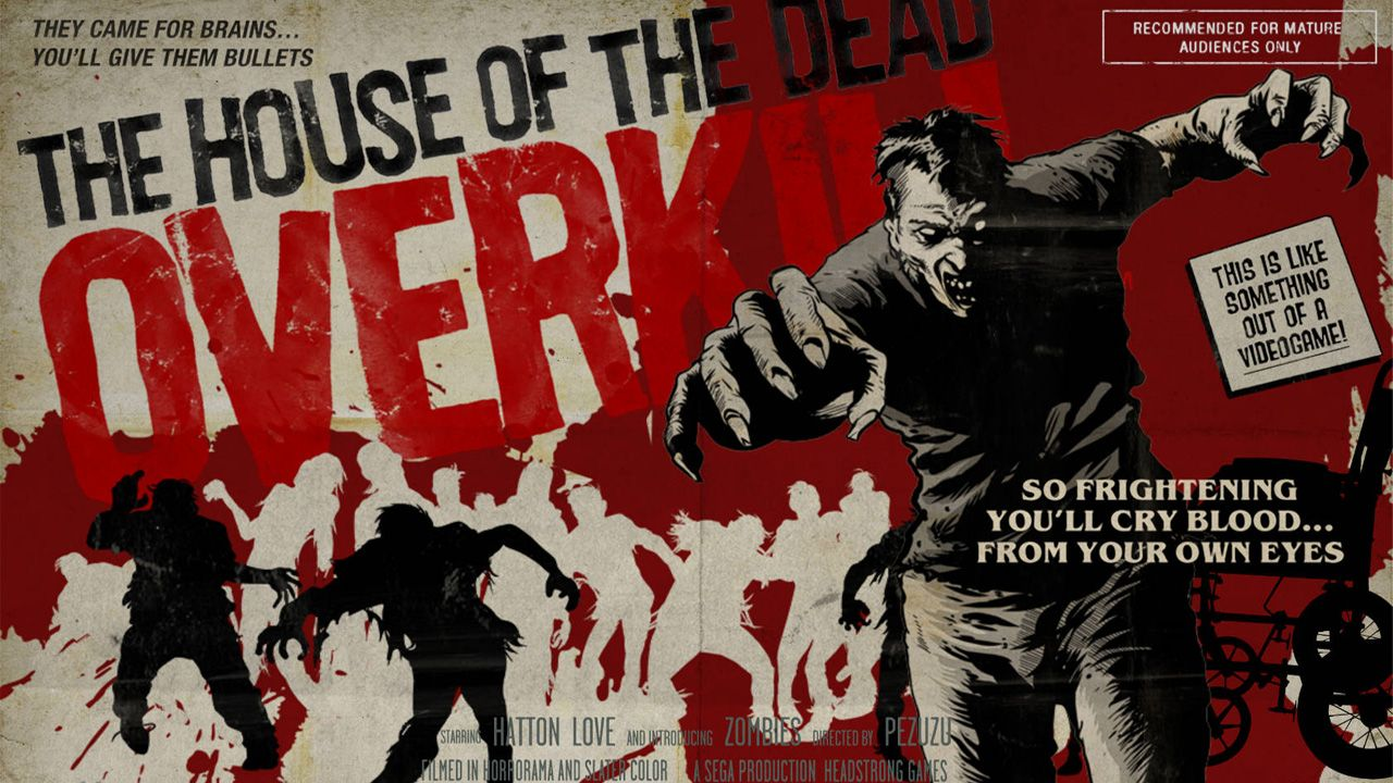 The House Of The Dead Overkill Nintendo Wii Nintendo Wii Wii Wii Games