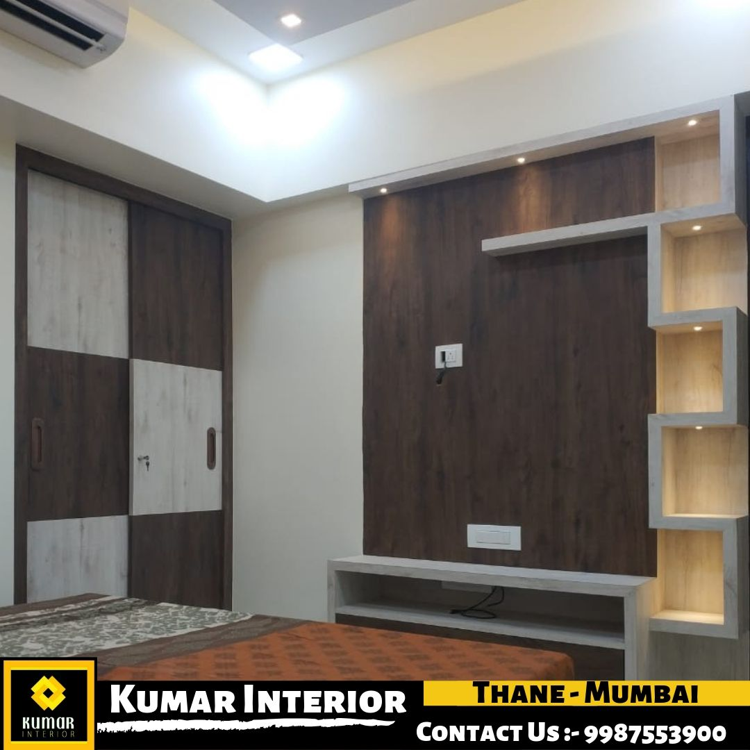 Best Interior Designer In Thane In 2020 Modern Tv Wall Units Cupboard Design Lcd Panel Design