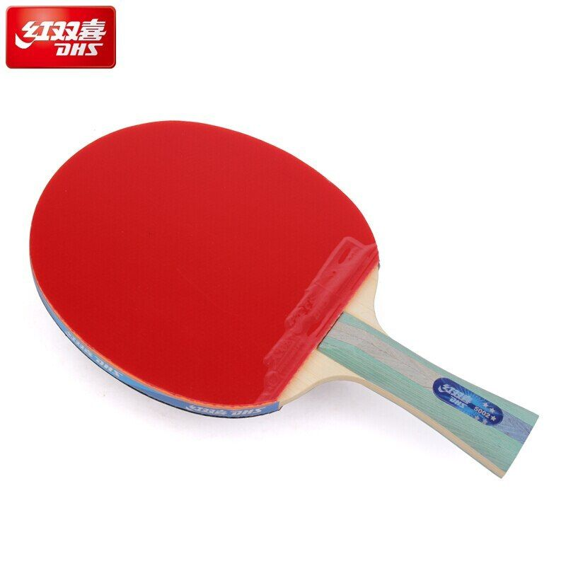 Dhs Table Tennis Racket 5 Star 5002 5006 With Rubber Skyline Hurricane And Bag Training Ping Pong Bat Table T Table Tennis Racket Table Tennis Tennis Racket