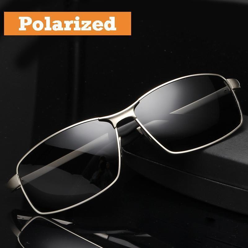 Aoron Mens Polarized Sunglasses Al-Mg High Quality Driving Eyewear 100/% UV400