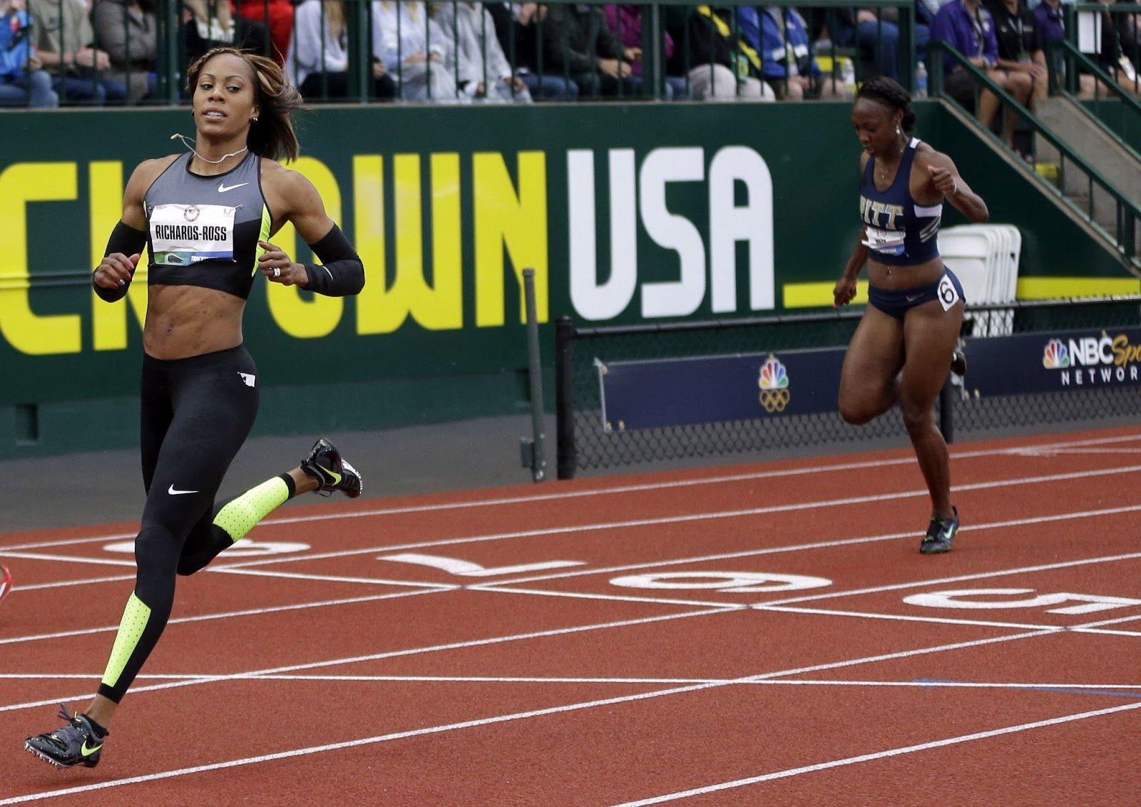 USA Sprinter Sanya Richards-Ross - Funky Olympians 2012 - FUNK GUMBO RADIO:  http://www.live365.com/stations/sirhobson and https://www.funkgumbo.com ...
