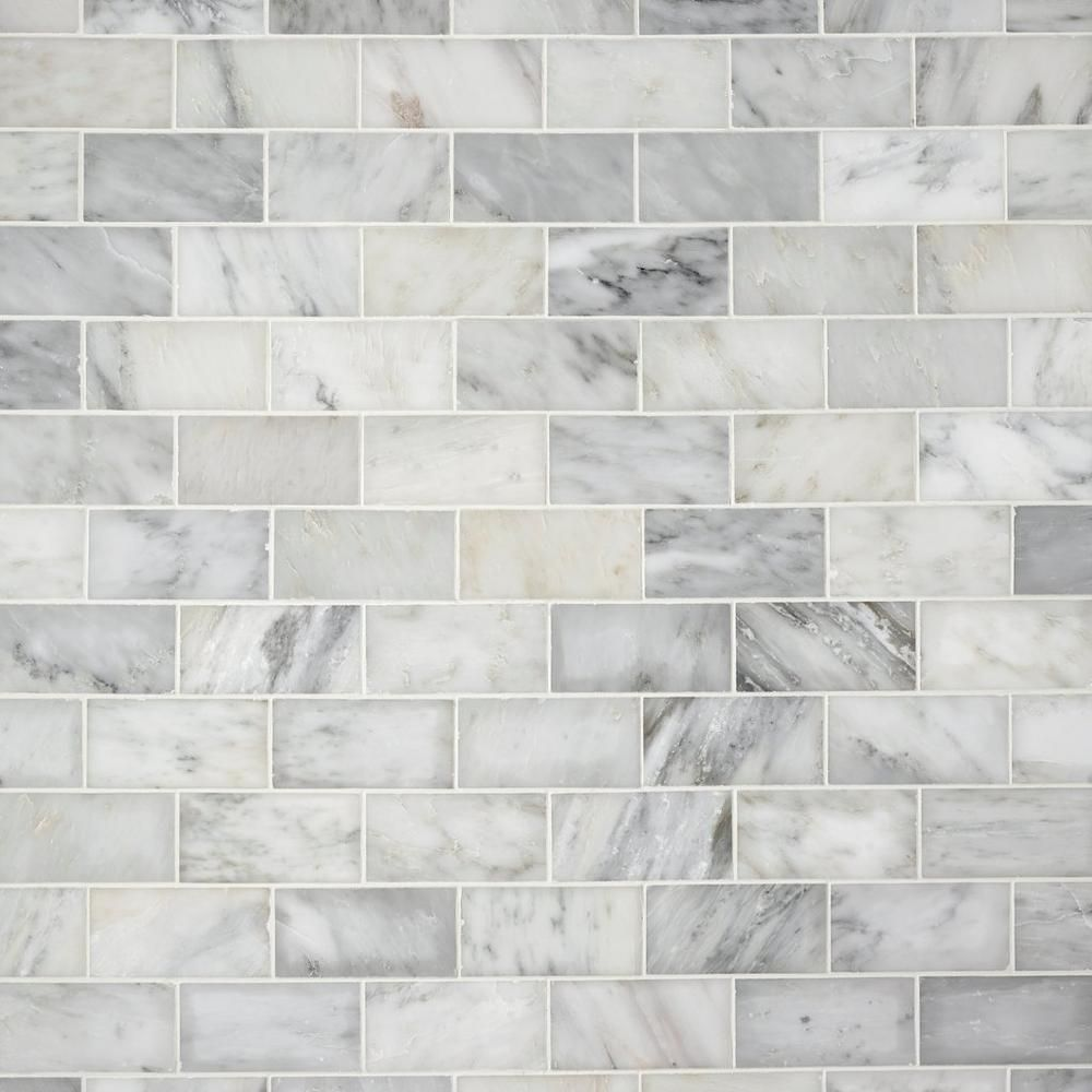 Carrara White Polished Marble Tile Floor Decor In 2020 Polished Marble Tiles Marble Tile Marble Tile Floor