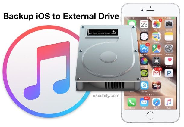 How to Backup an iPhone to External Hard Drive with Mac OS