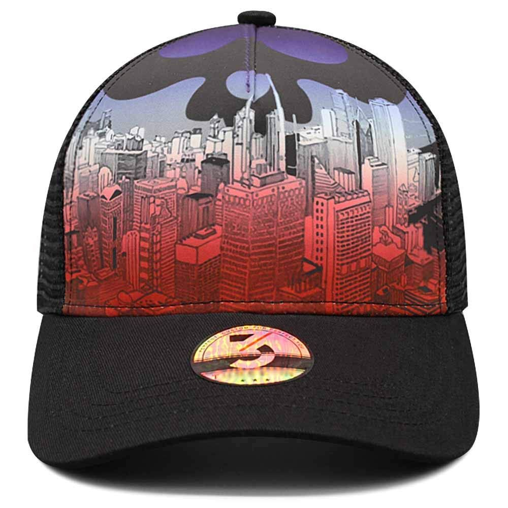 f669c2f2 Amazon.com : PFL STORE Custom Baseball Cap City Logo Printed Basketball Cap  Adjustable Hat : Sports & Outdoors