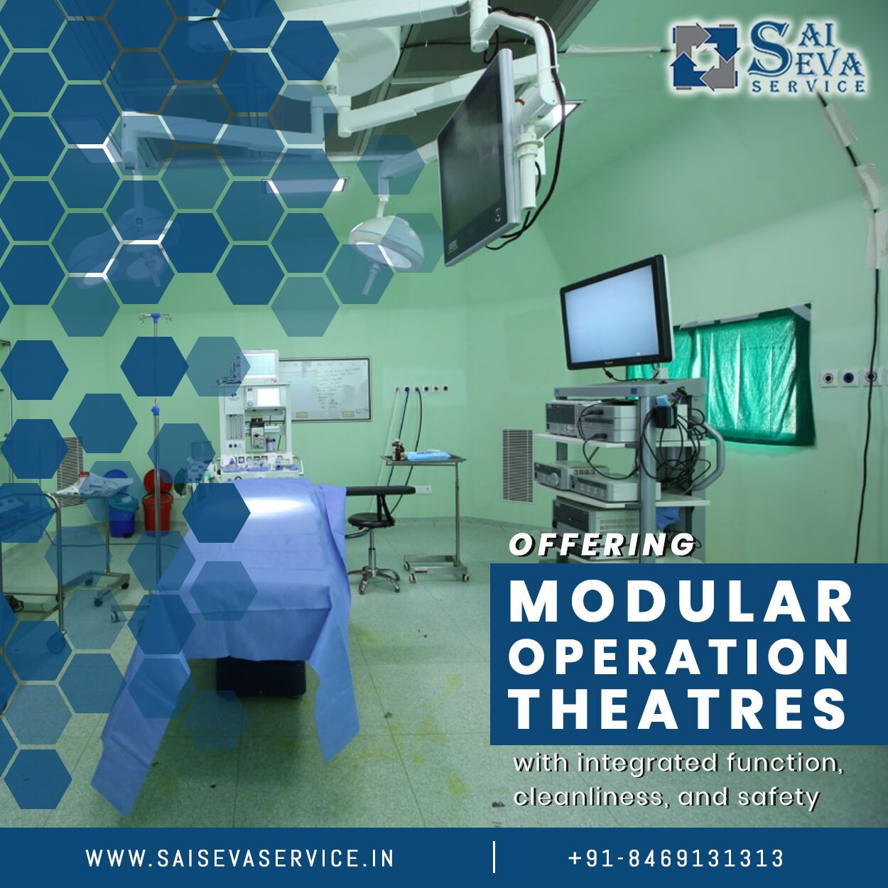 Get high quality modular operation theater designing, set