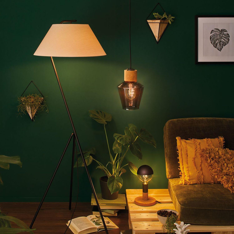 Pendelleuchte Edla Stehlampe Retro Grune Wohnzimmer Und