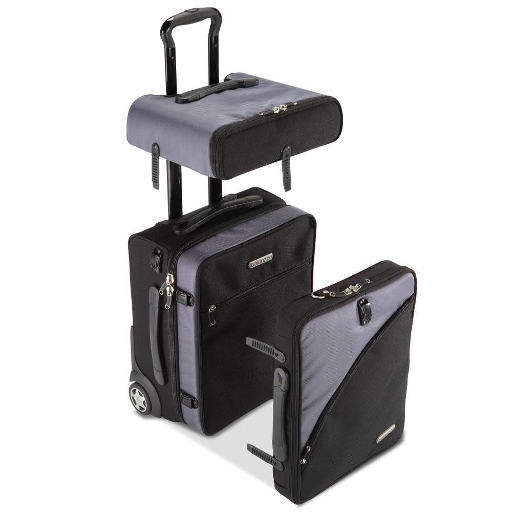 dabd7a505 Equipaje de mano desmontable - el único equipaje de tamaño completo que se  separa en tres