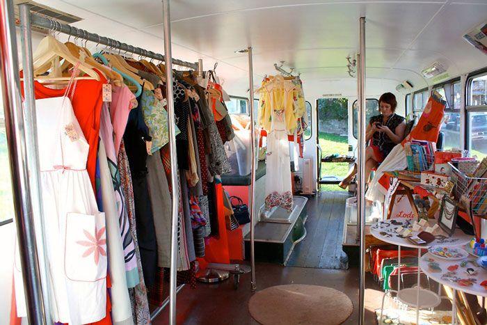 Lodekka Fashion Truck Vintage Clothes Shop Vintage Store