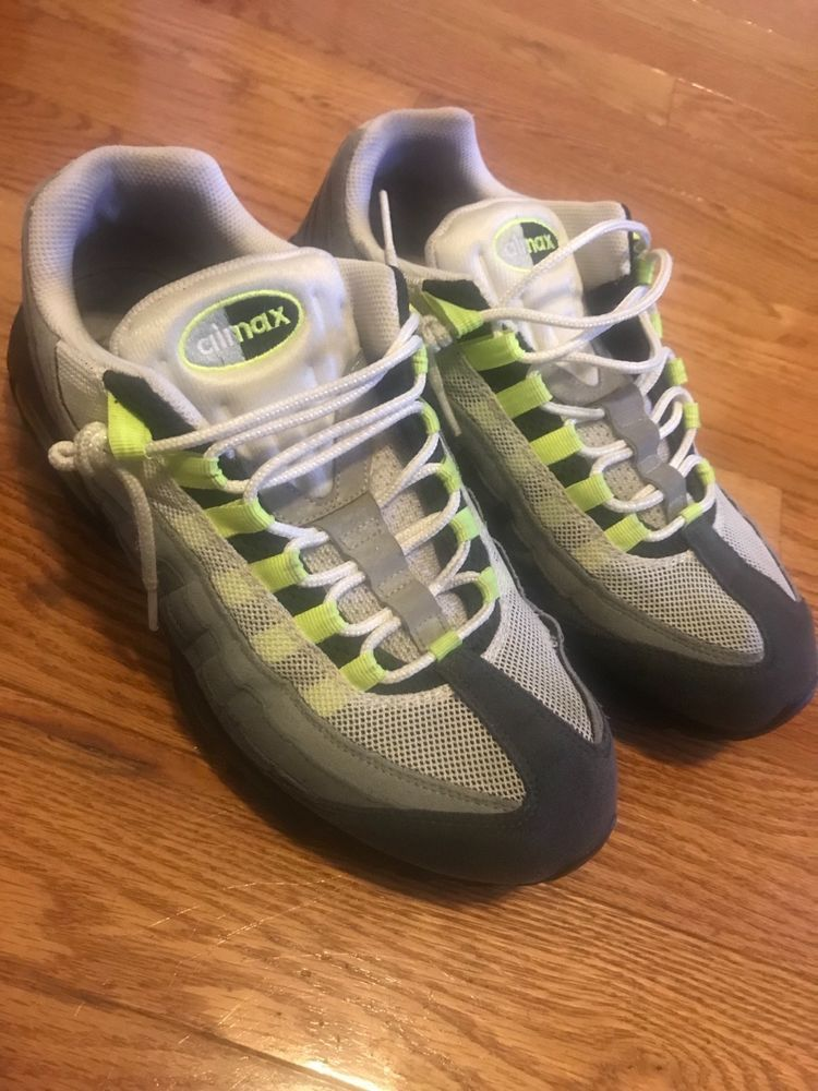 ecad63f740 Nike Air Max 95 Neon Green Size 12 #fashion #clothing #shoes #accessories  #mensshoes #athleticshoes #ad (ebay link)