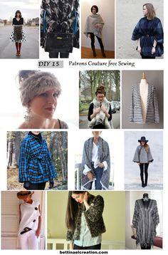 Diy 15 idées de couture saison Automne hiver