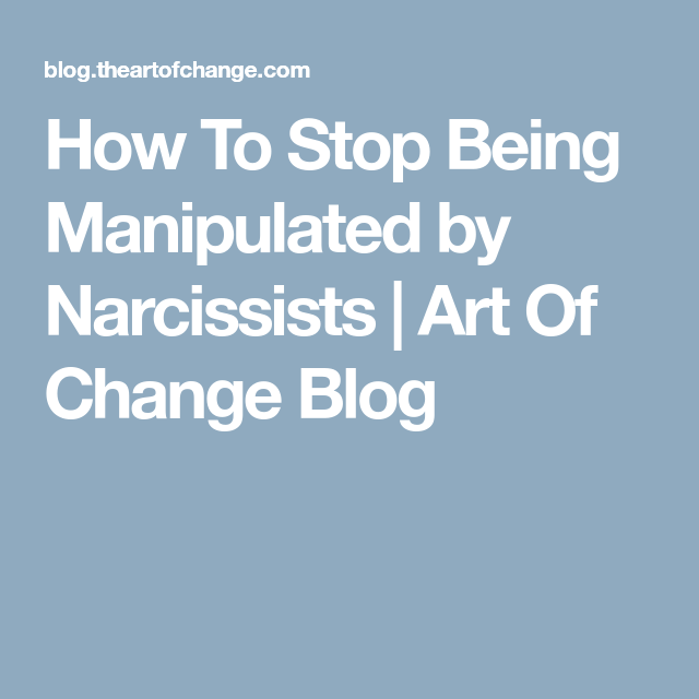 How to stop dating narcissists