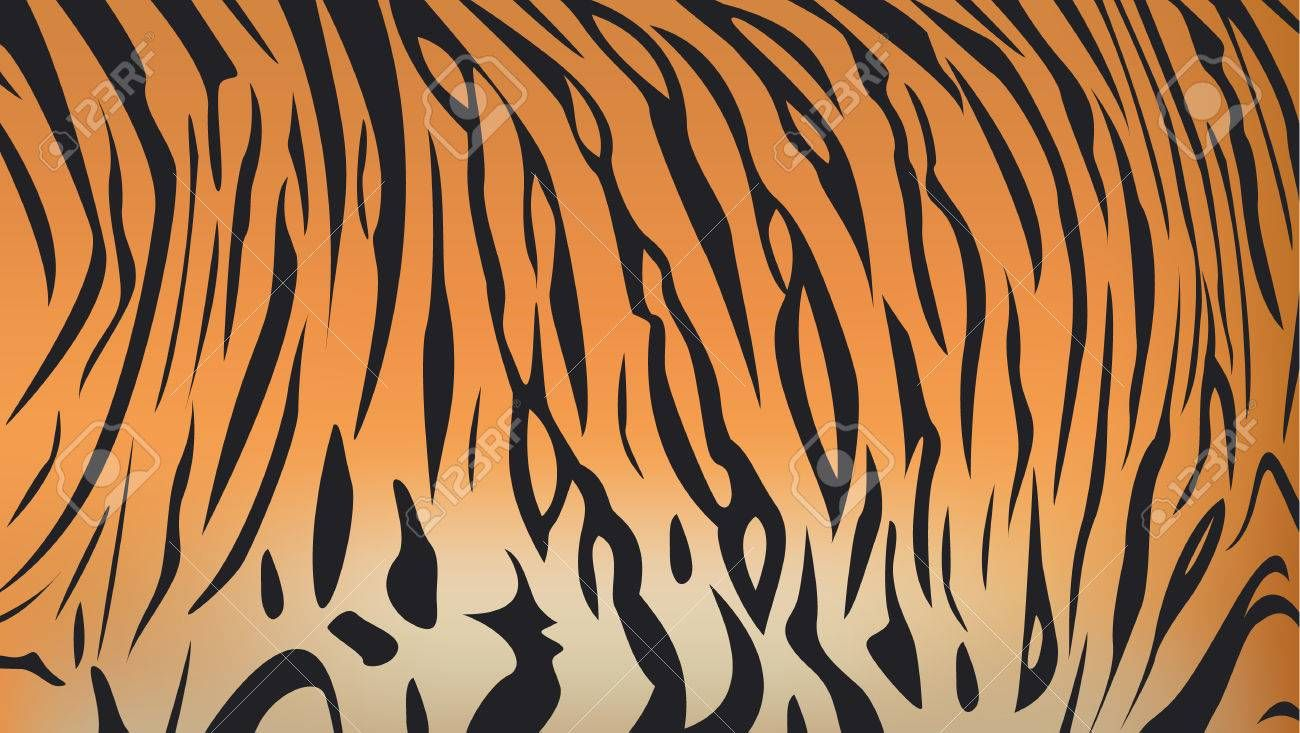 Vector Illustration Of Bengal Tiger Stripe Pattern Sponsored Bengal Illustration Vector Pattern St Stripes Pattern Tiger Stripes Geometric Pattern