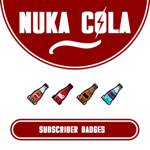 Nuka Cola Subscriber Badges Badge Fallout Nuka Cola Badge Design