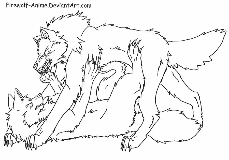 Wolf Pin Line Art by Firewolf-Anime.deviantart.com on @DeviantArt ...