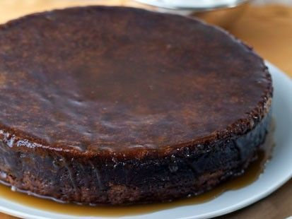 Toffee Date Cake