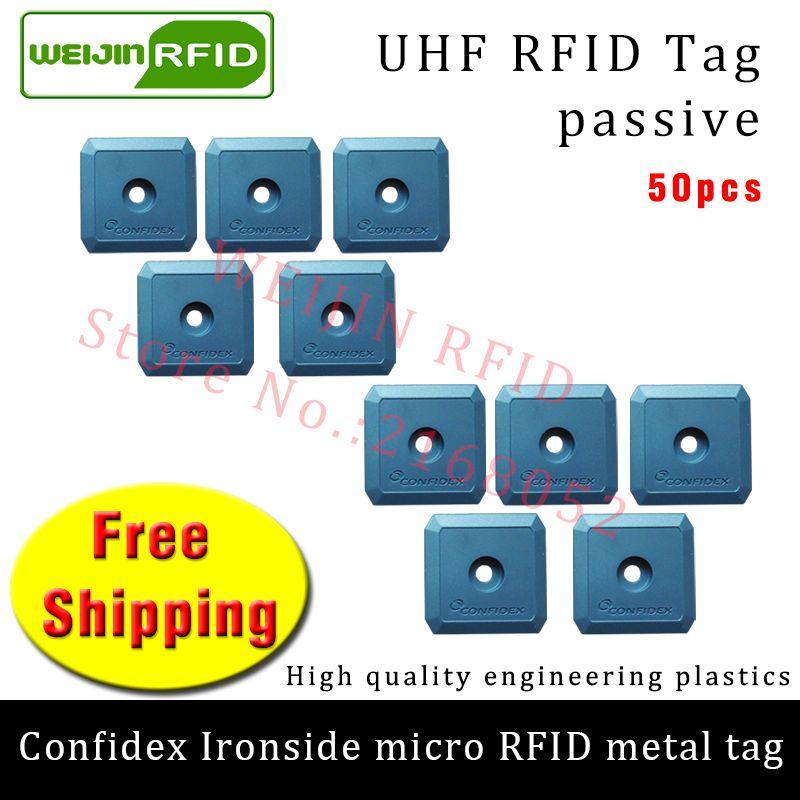 UHF RFID anti-metal tag confidex ironside micro 915mzh 868m