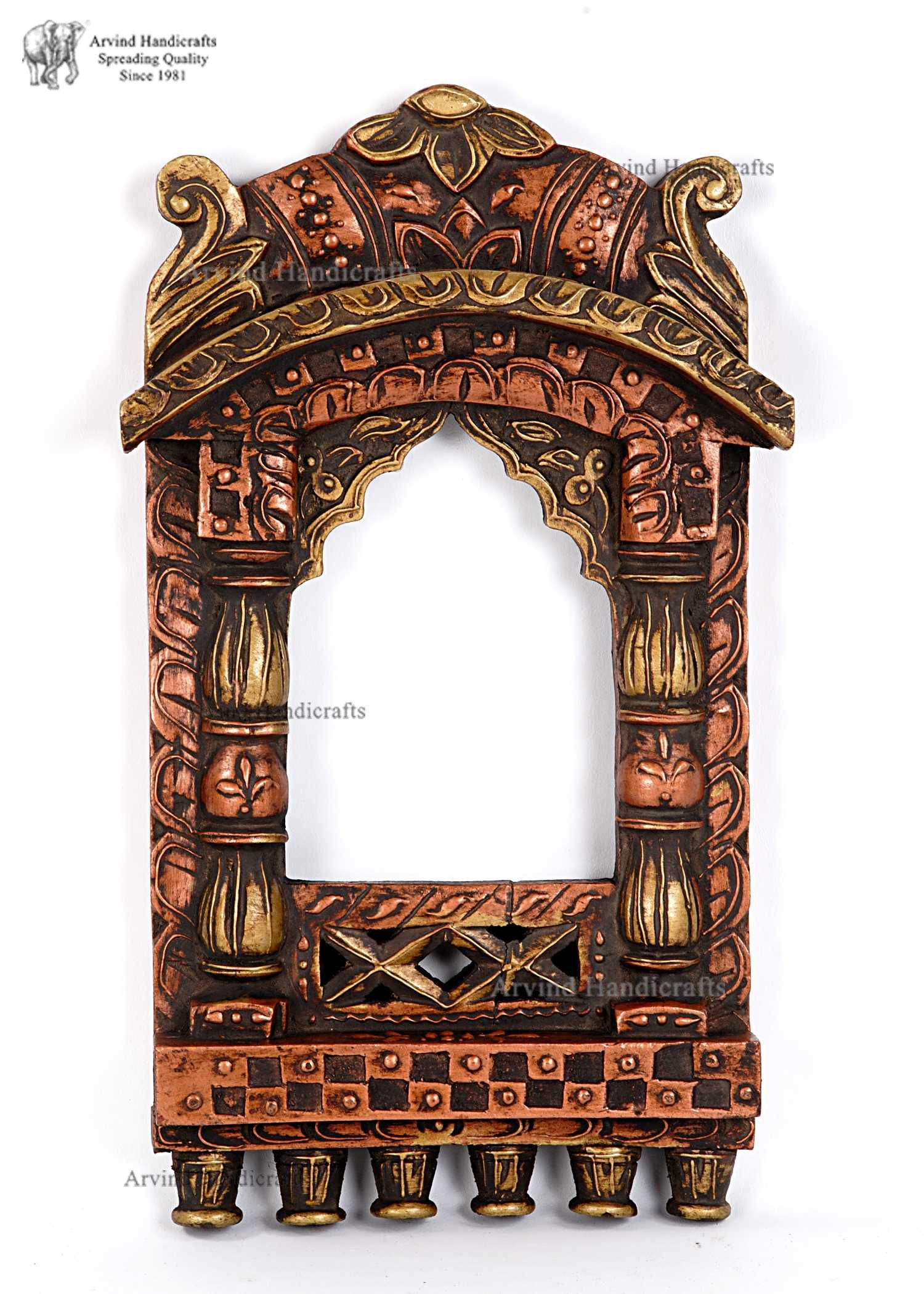 Jharokha Antique Frames Window Decor Mirror Frames
