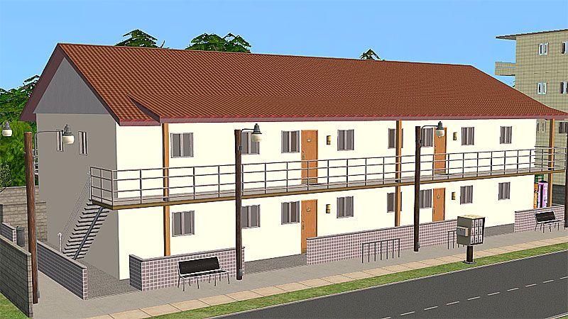 Mod The Sims Katamari Apartments Oregon Washington Houses Building