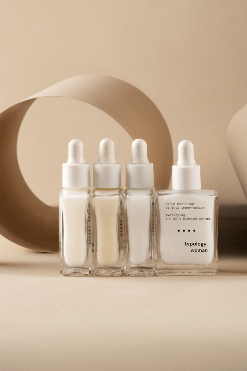 Luxury Skincare Bottle Packaging Typology Skincare Range Radiates Clean Contemporary Fee Cosmetic Packaging Design Luxury Skincare Luxury Skincare Packaging