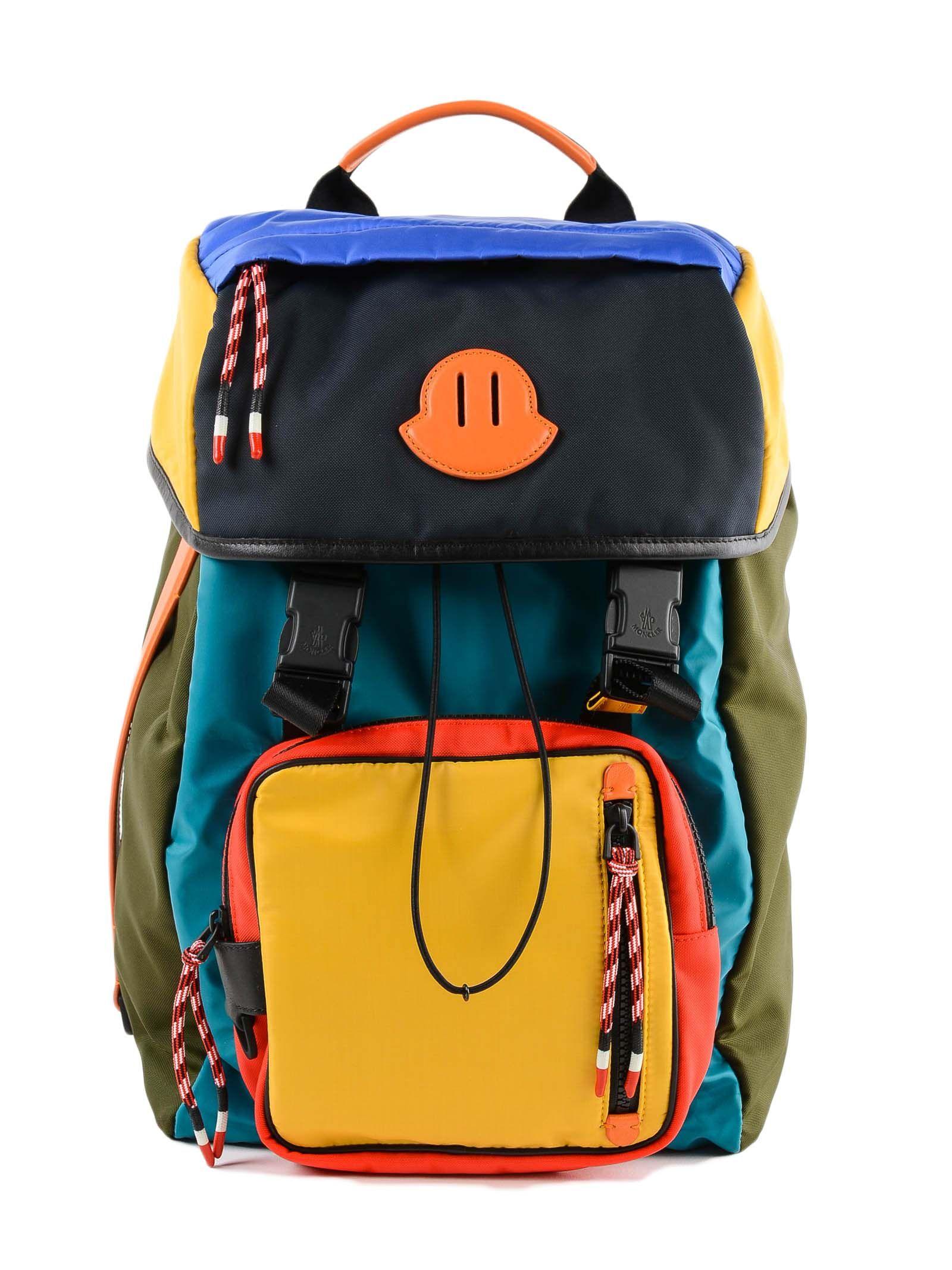87815c2b0 MONCLER CHUTE MULTICOLOR BACKPACK. #moncler #bags #backpacks ...