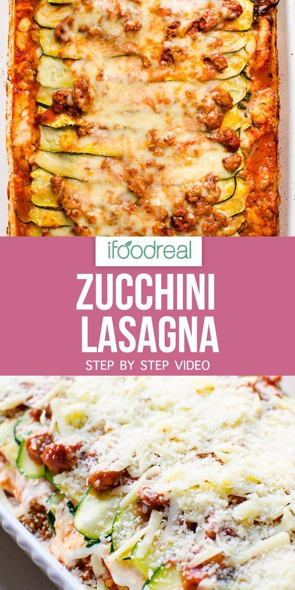 Zucchini Lasagna Recipe With Ground Turkey And Made Low Carb