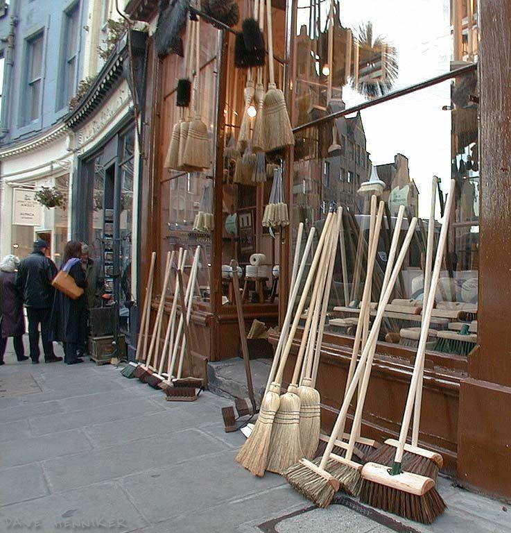 Robert Cresser Brush Shop - Victoria Street,  Edinburgh