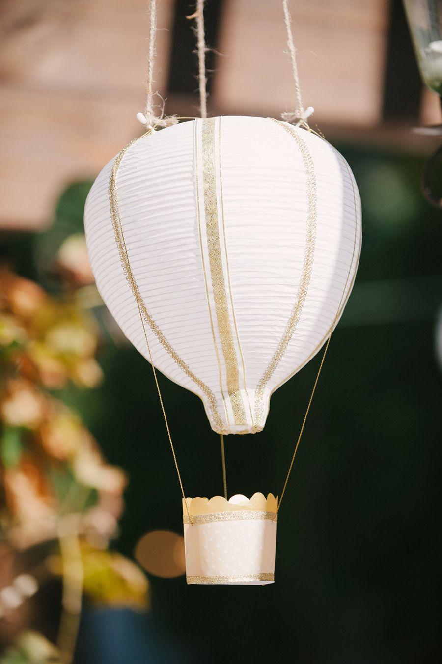 Wedding ideas with lanterns  Whimsical DIY Garden Wedding at Franciscan Gardens  Hot air