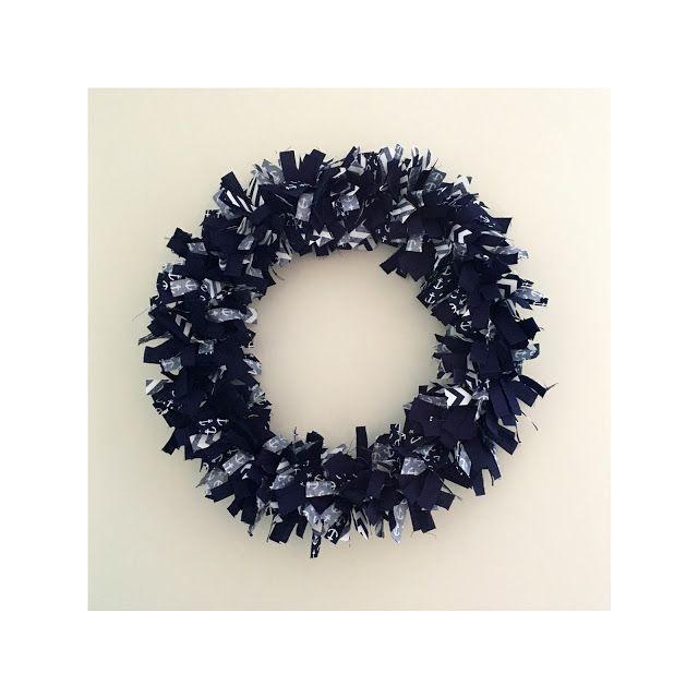 DIY: Rag Wreath - Perfectly Ambitious