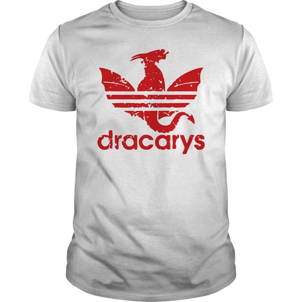 oveja bebida Por ley  Dracarys Adidas Dragon GOT Limited Edition T-Shirt | Adidas dragon, Shirts,  Ems shirts