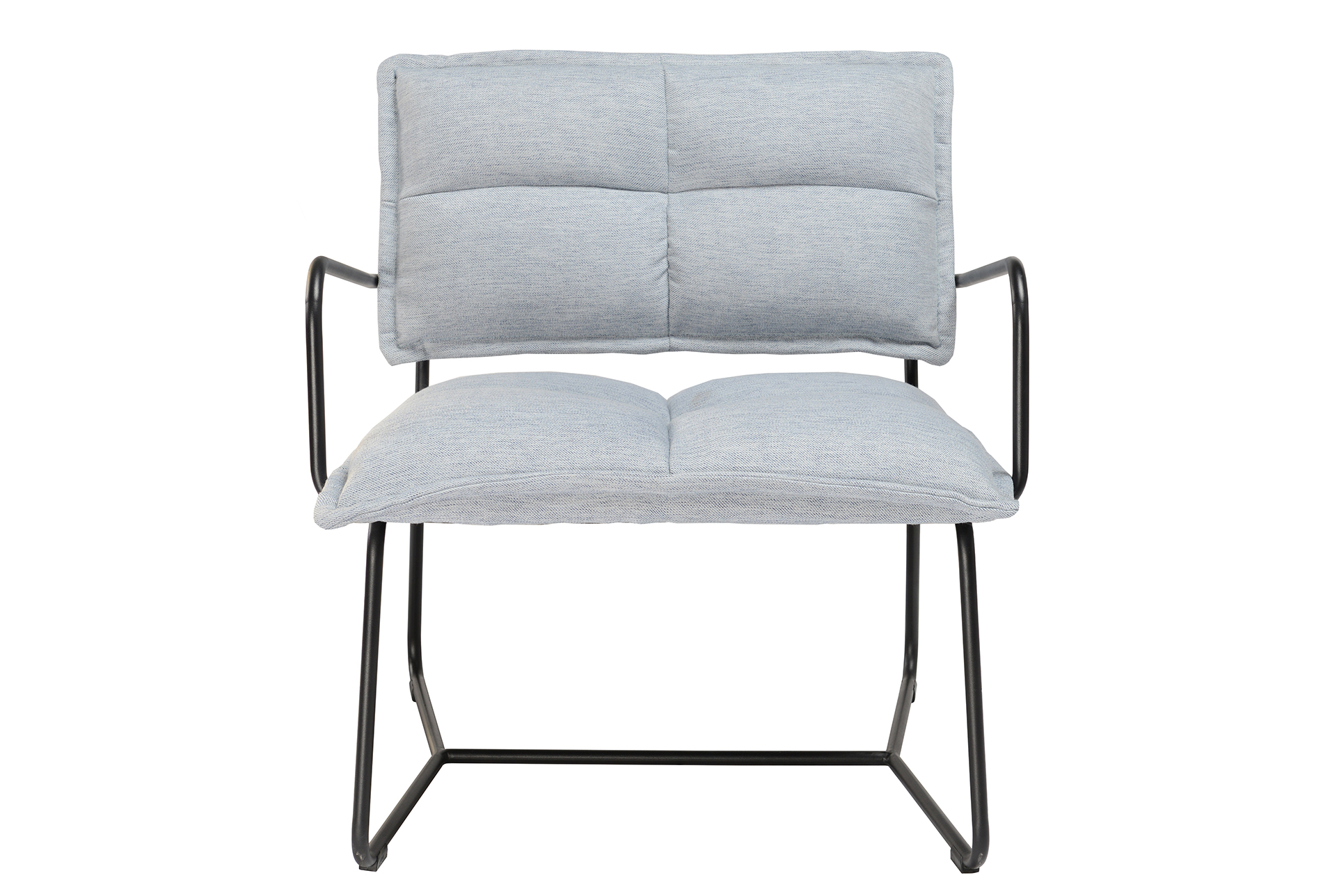 Blue Grey Metal Accent Chair Accent Chairs Chair Blue Grey
