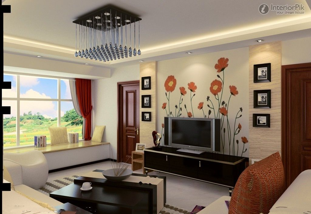 Tv Wall Design Google Search Living Room Wall Designs Living Room Design Blue Indian Living Rooms #tv #wall #decor #ideas #for #living #room